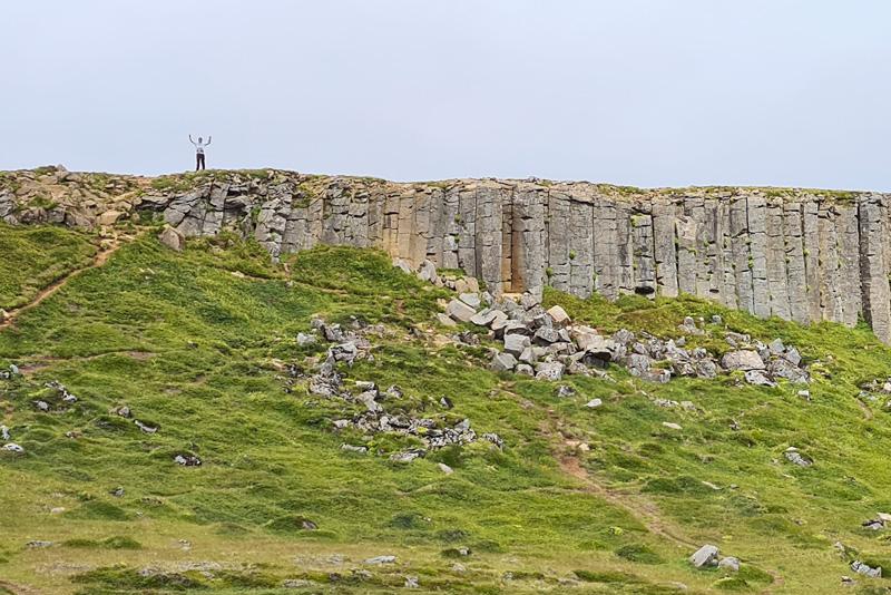 13 Days in Iceland - Gerduberg Cliffs