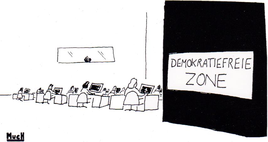 Ein Cartoon
