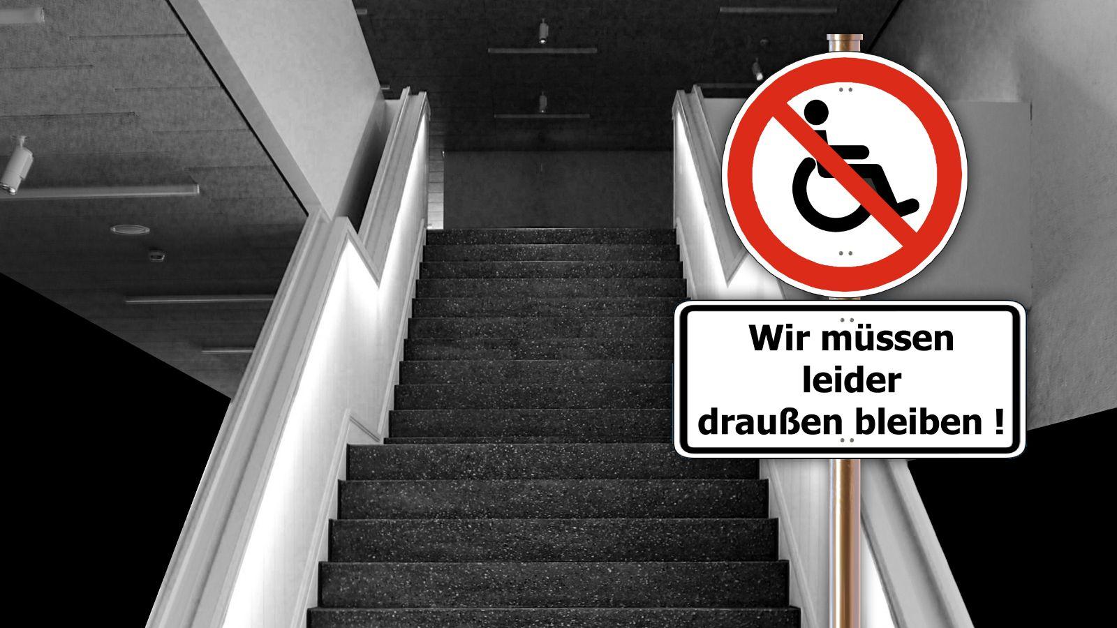Salzburger Landesregierung pfeift auf die Barrierefreiheit!
