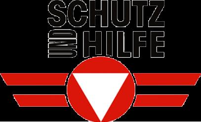 Logo des Österreichischen Bundesheeres mit Slogan: Schutz und Hilfe