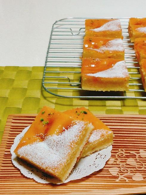 あんずの発酵バターケーキ