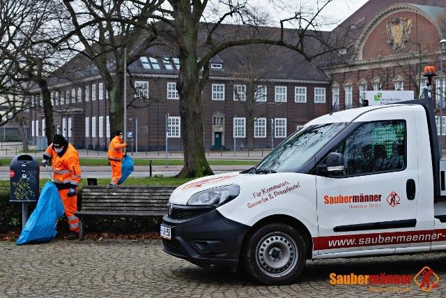 Aussenreinigung und Gehwegreinigung Saubermänner Bremen