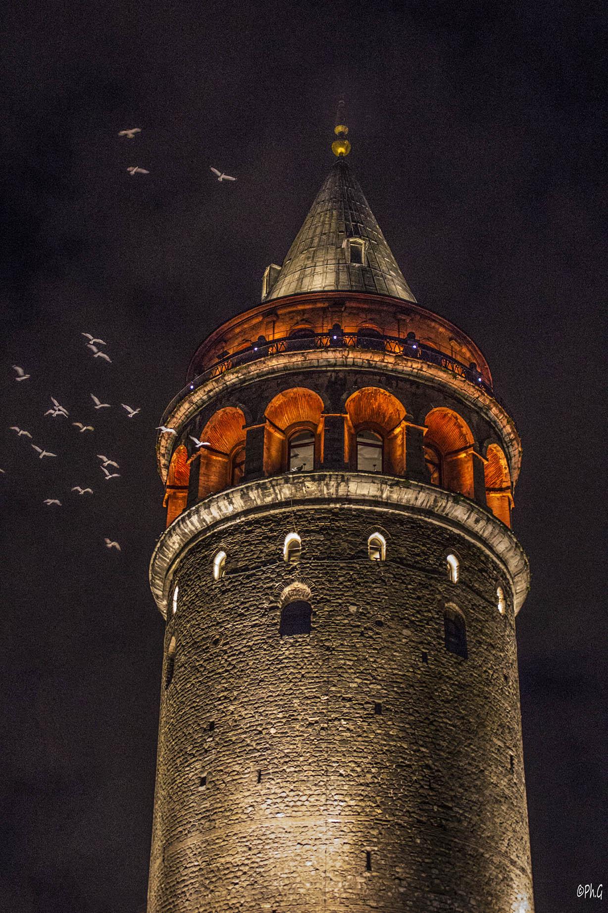 12 - Philippe GOMIS - Galata Tower - Istambul