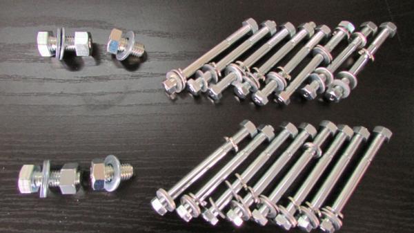 ④A ボルトセット【Aタイプ】リブ通しボルトタイプ※ハイテンションボルト使用