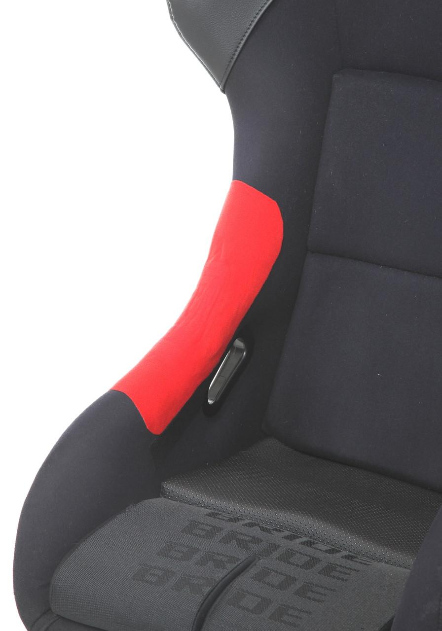 補修用のり付シート生地、  赤、青、黒(マジックテープ取り付け可能)