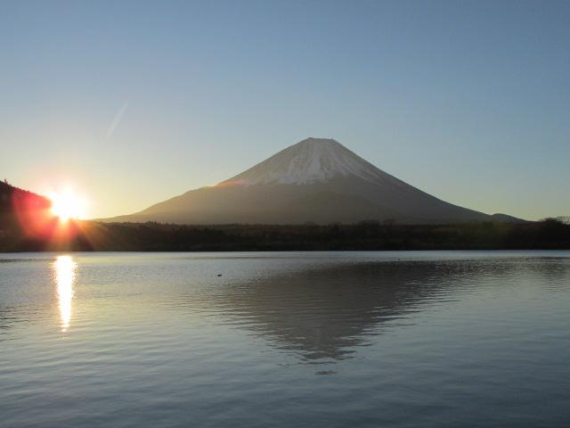 富士、精進湖2018/1/1
