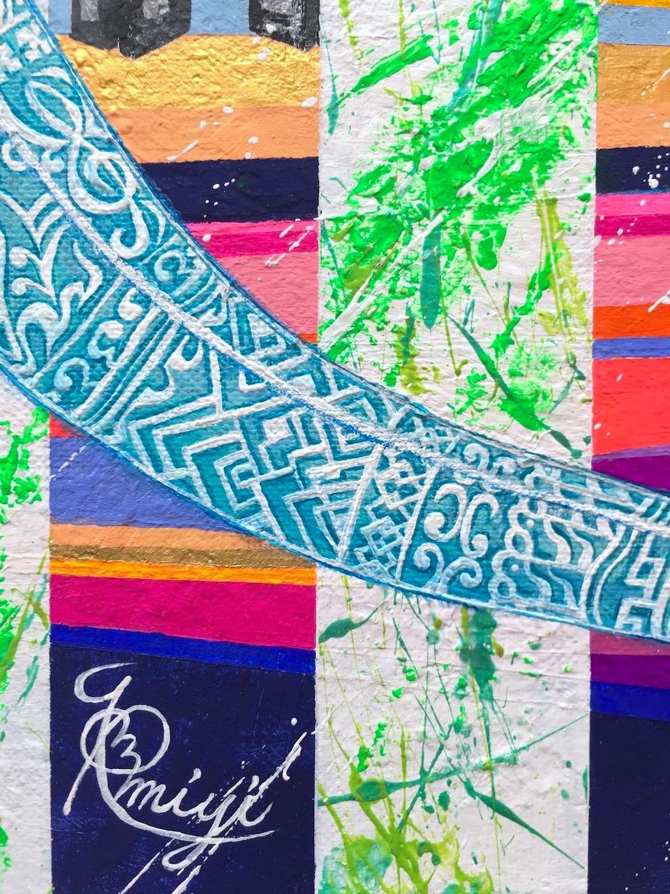 『 KAITIAKI 』acrylic on canvas (53.0cm×45.5cm/F10)