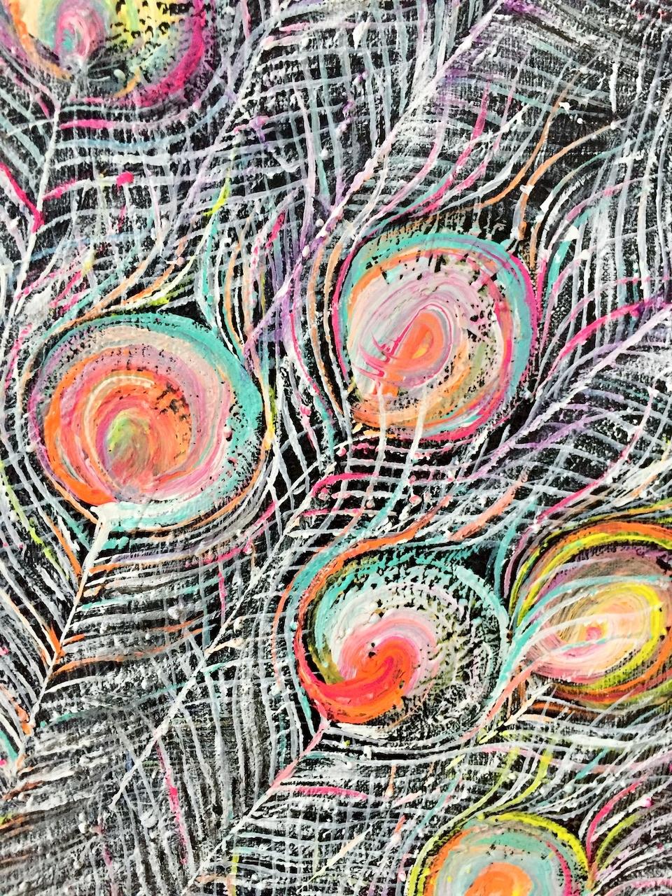 『la reverie 』acrylic on canvas (72.7cm×60.6cm/F20)