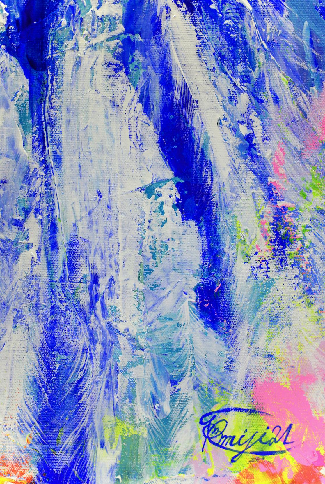 『 La vie joyeuse 』acrylic, mixed-media on canvas (60.6cm×50.0cm/F12)