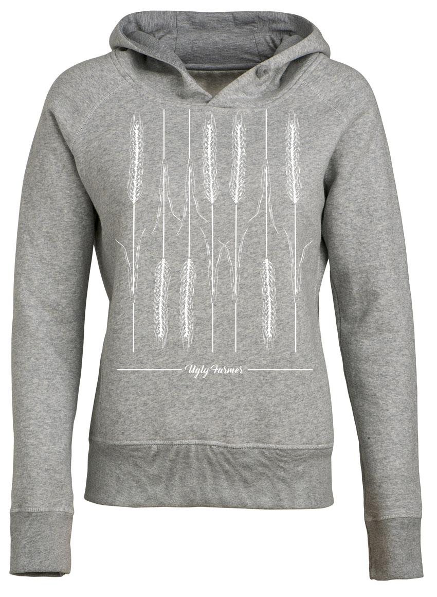 hrensache hoodie f r frauen in heather grey. Black Bedroom Furniture Sets. Home Design Ideas