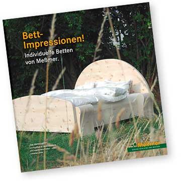 Broschüre von Möbel Meßmer aus Monheim bei Donauwörth im Donau-Ries