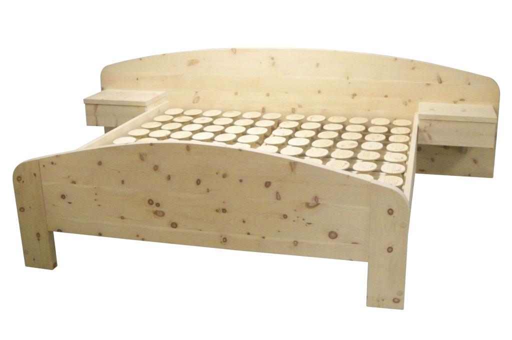 RELAX 2000 Schlafsystem im Zirben-Doppelbett von Möbel Meßmer