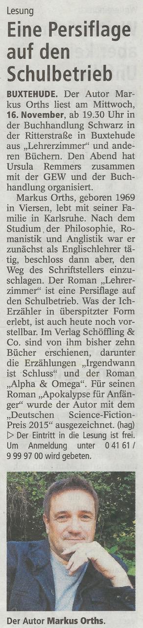 BuxtehuderTageblatt, 10.11.2016