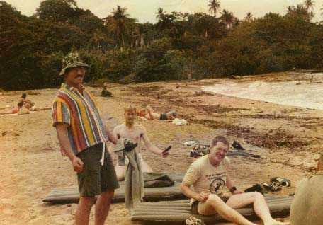 Shelter Beach damals mit Soldaten