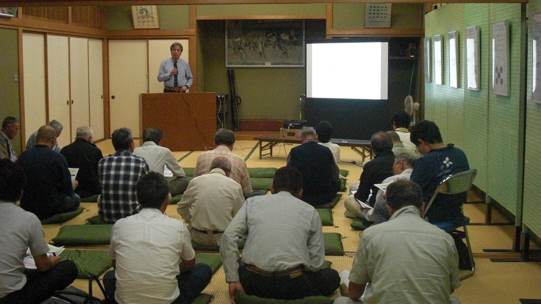 歴史講演会の開催