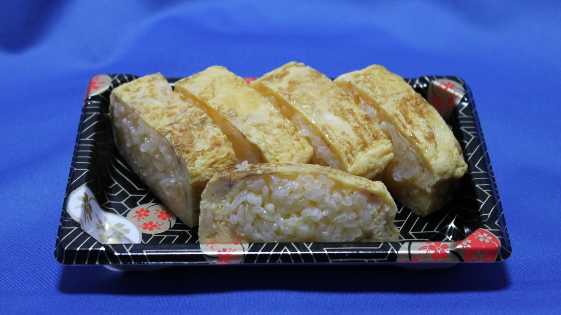 卵がふわふわの玉子寿司