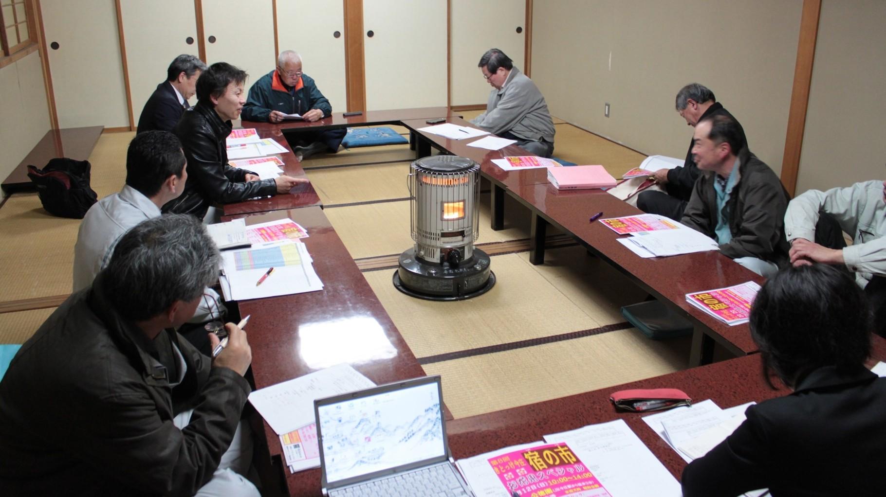 今庄宿プロジェクト協議会 理事会
