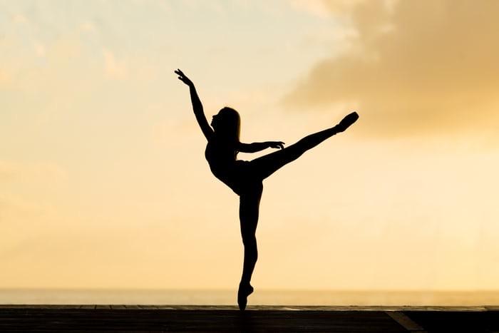 ジュニア・バレエ クラスのレッスン風景☆  全く初めての体験の方もやさしく丁寧に指導しています☆