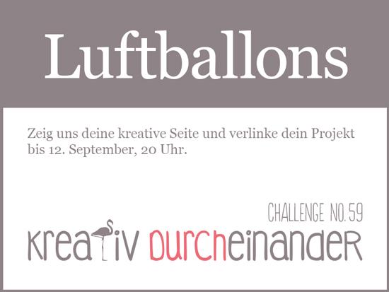 kreativ durcheinander luftballons