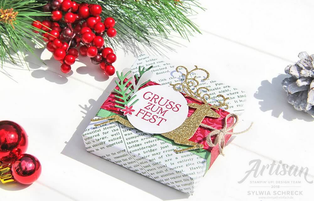 elegante weihnachten-stampin up