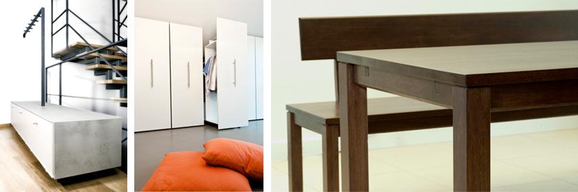 Möbel, Innenraum, Aussenraum, Schreinerei Grenzformen
