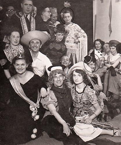 Carnaval bij Hester Carsten in Den Haag (1951)