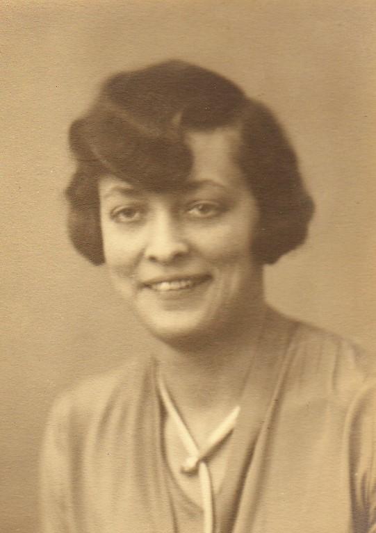Julie en 1925