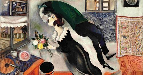 Gli Amanti, Chagall