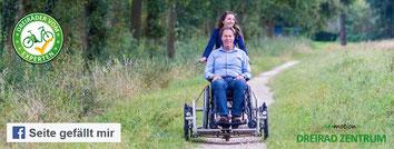Facebook Fan des Dreirad-Zentrums werden