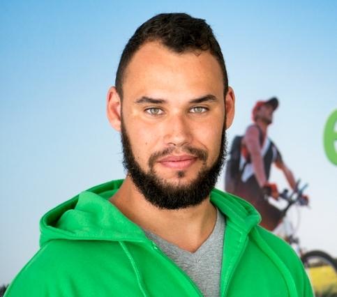 Das Team vom Dreirad-Zentrum Kleve: Fabian Mueser