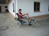 Therapiedreiräder erhalten die Mobilität