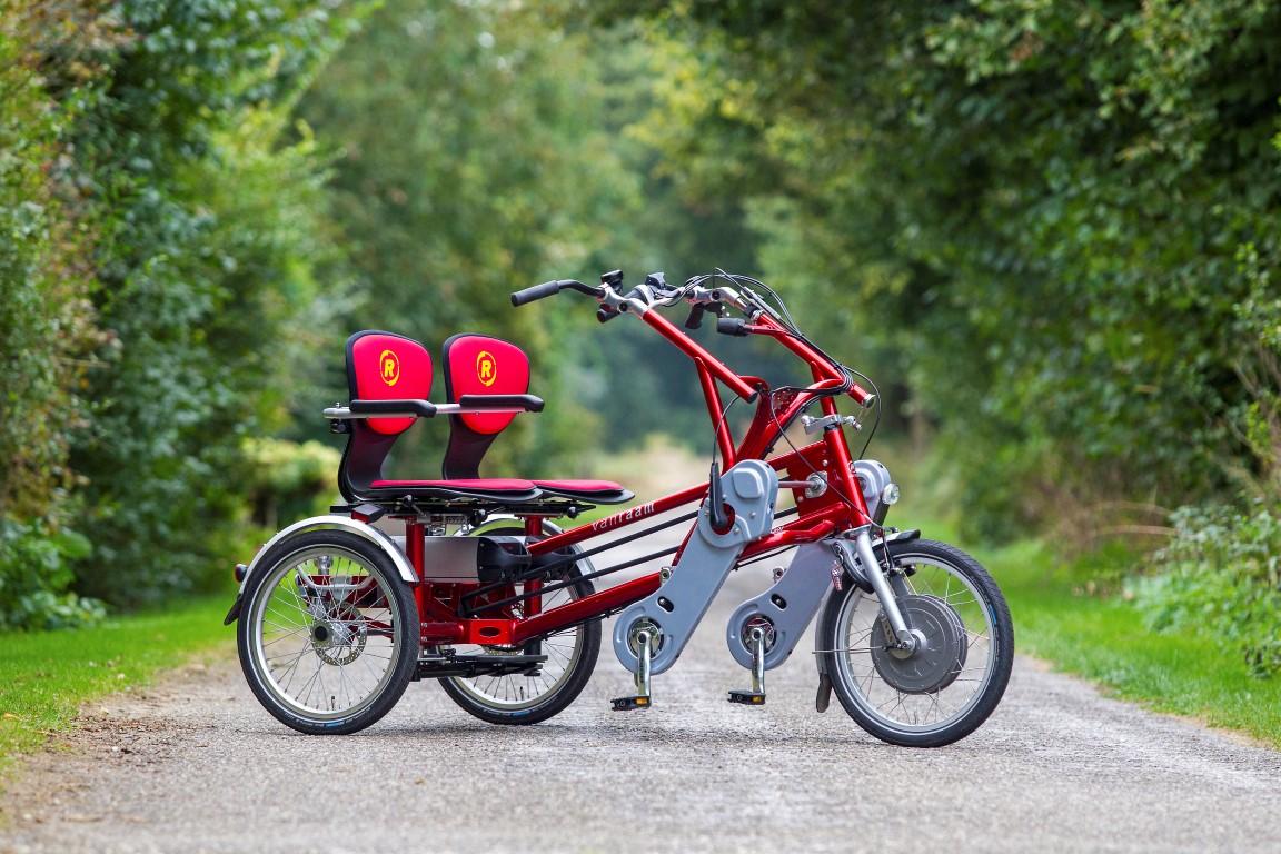 Fun2Go von Van Raam als Elektro-Dreirad - Tandem mal anders