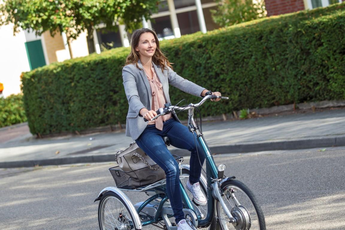 Van Raam Max Dreirad mit Option zum Elektro-Dreirad