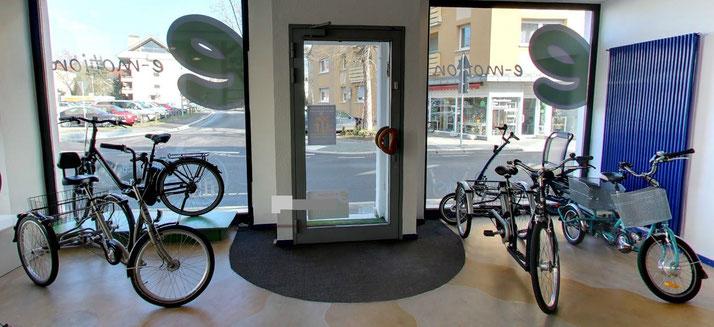 Das Dreirad-Zentrum in Worms