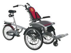 Das Rollstuhlfahrrad O-Pair 2
