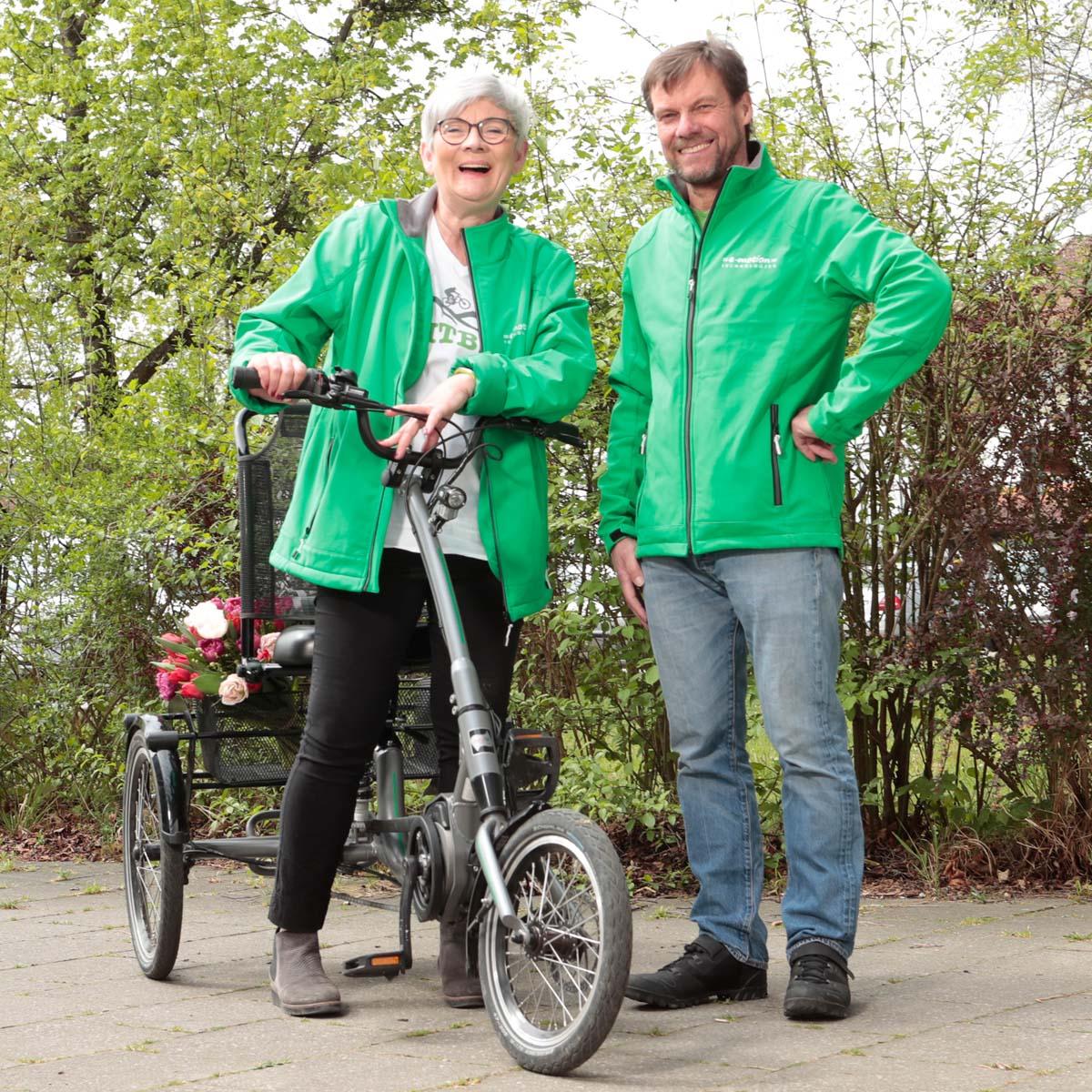 Ihre Dreirad Experten Birgit & Dietmar