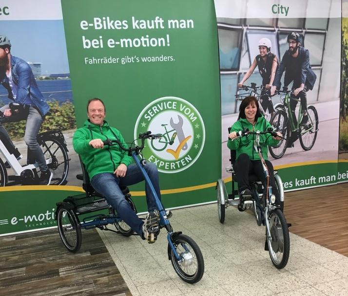 Das Team des Dreirad-Zentrums St. Wendel