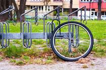 Diebstahlschutz für ein Dreirad