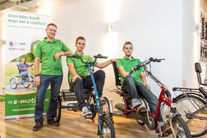Terminvereinbarung mit den Dreirad und Elektro-Dreirad Experten im Dreirad-Zentrum Braunschweig