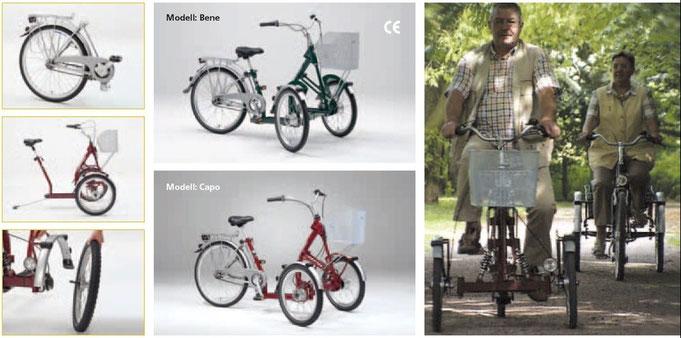 Pfau-Tec Bene Dreirad für Erwachsene