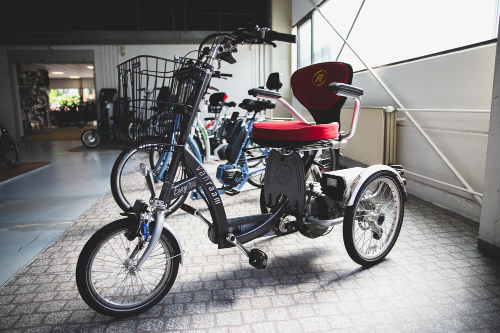Van Raam Dreiräder im Dreirad-Zentrum Heidelberg