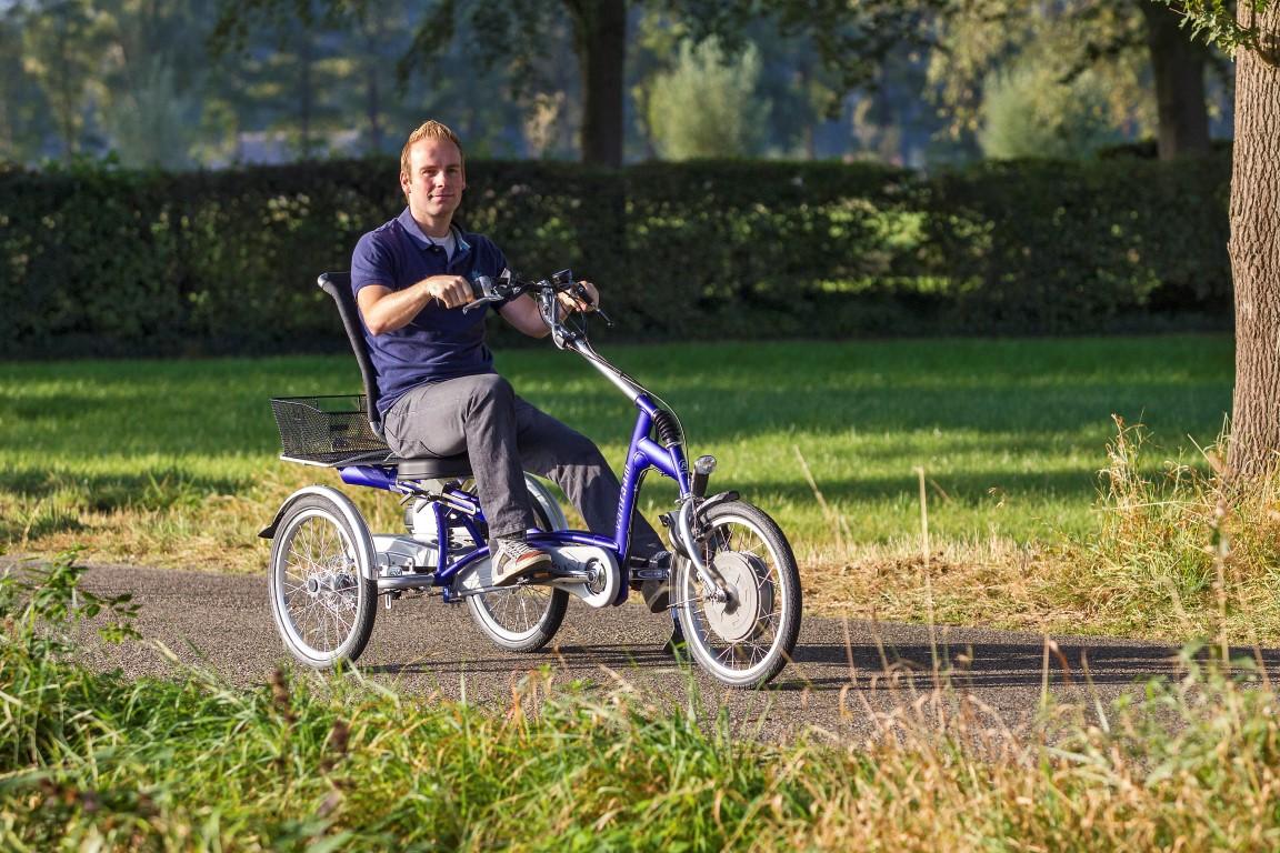 Easy Rider von Van Raam - Lässig und entspanntes Sessel-Dreirad in Harz