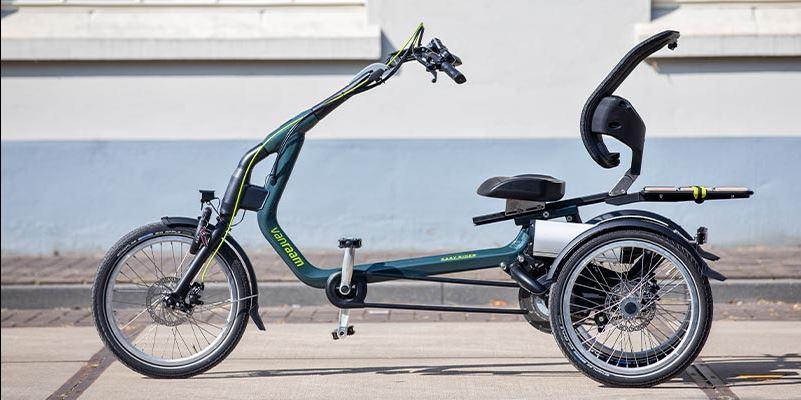 Elektro-Dreirad Easy Rider von Van Raam - Sportlich moderner Hingucker