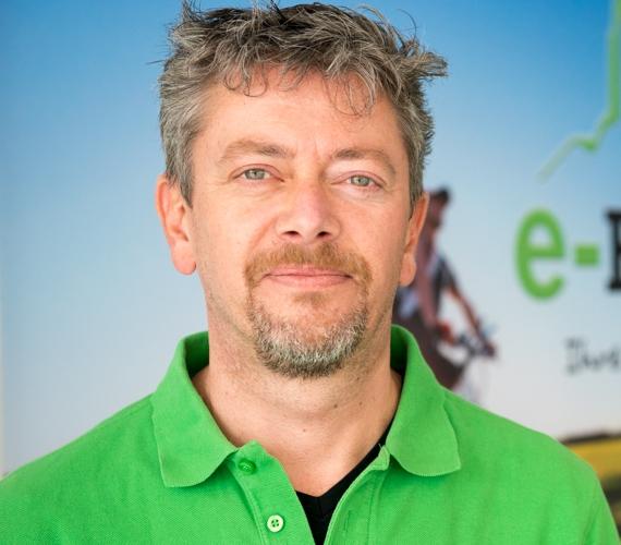 Das Team vom Dreirad-Zentrum Kleve: Jörg Janssen