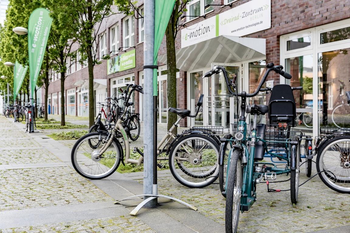 Team Dreirad Zentrum Berlin-Mitte