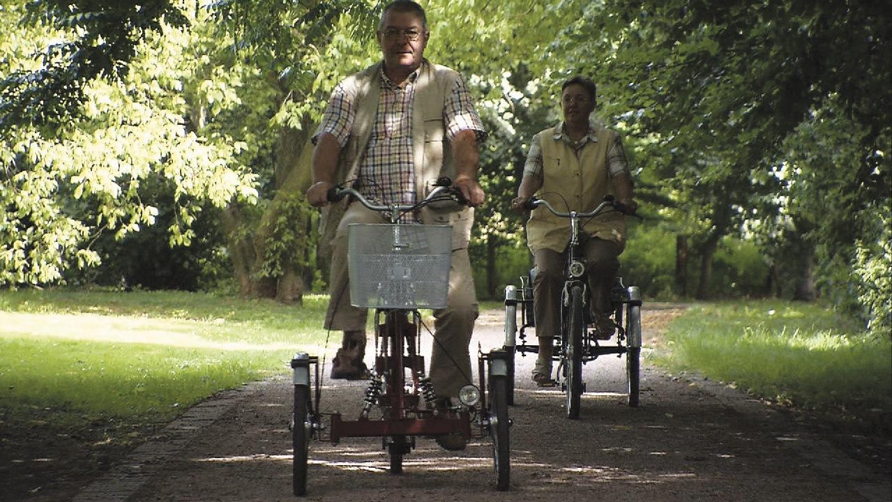 Dreiräder von Pfau-Tec - Gemeinsam Radfahren