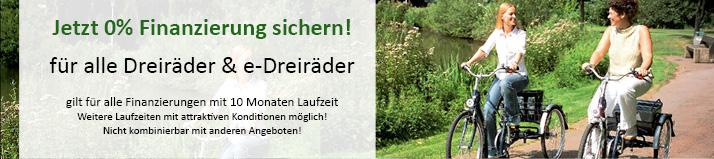 0%-Finanzierung für Dreiräder und Elektrodreiräder in Berlin-Mitte