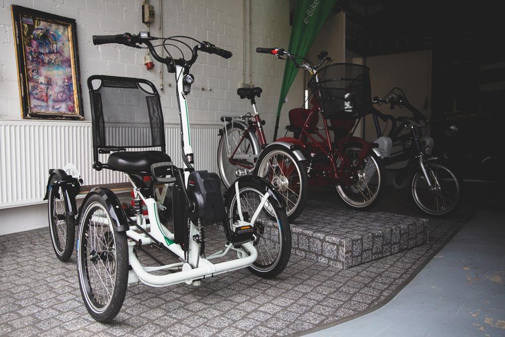 Dreiräder für Erwachsene, Senioren und Behinderte im Dreirad-Zentrum Heidelberg
