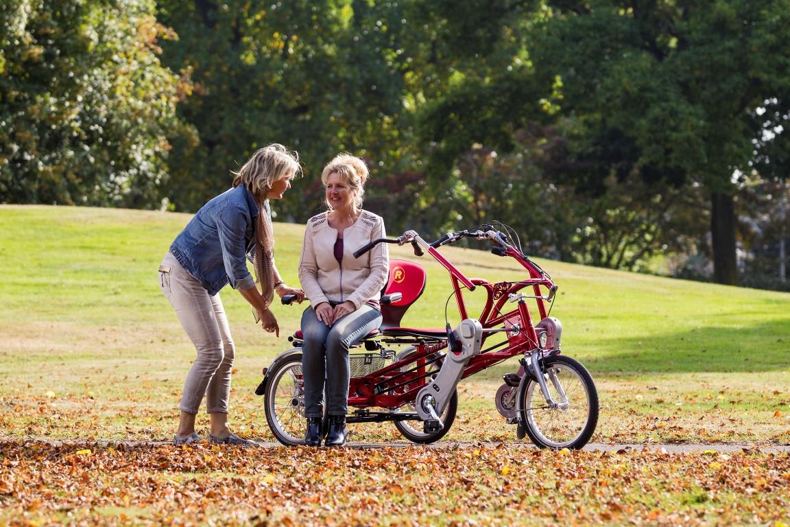 Fun2Go von Van Raam - Zu zweit unterwegs mit dem Tandem-Dreirad