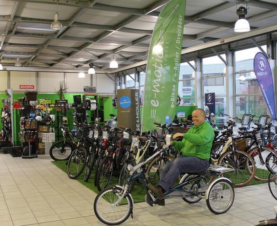 Unser Service für Ihr Dreirad
